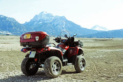 An ATV of the Allgäu mountains Stock Image