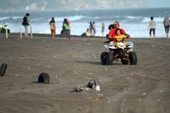 ATV Beach Stock Images