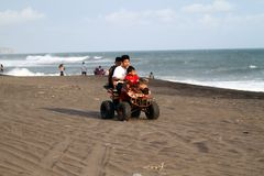 ATV Beach Royalty Free Stock Image