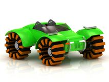 ATV buggy green Royalty Free Stock Image