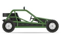 Atv car buggy off roads vector illustration Stock Photo