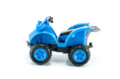 ATV car toy isolated Royalty Free Stock Photos