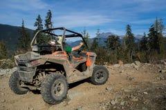 ATV conduisant dans Whistler Photo libre de droits