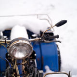 ATV Covered With Snow Stock Image