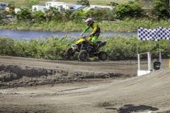 ATV In de lucht Stock Foto's