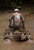 ATV in de modder royalty-vrije stock afbeelding