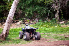 ATV. For driving in the desert Royalty Free Stock Photography