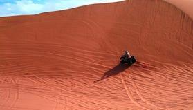 ATV driving at Namib desert, Swakopmund, Namibia Royalty Free Stock Photo