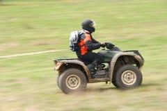ATV en la acción Imagenes de archivo