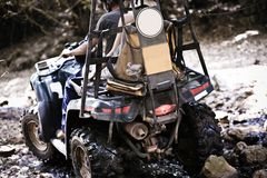 ATV fun Royalty Free Stock Photography