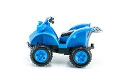 ATV-geïsoleerd autostuk speelgoed Royalty-vrije Stock Foto's
