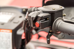 ATV Gearbox Lever Shift Royalty Free Stock Photo