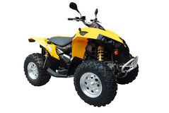 Atv isolated Royalty Free Stock Photography