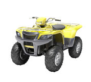 ATV isolated Stock Photo