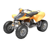 ATV isolated Royalty Free Stock Photo