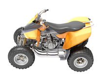ATV isolated Royalty Free Stock Photos
