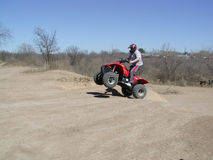 ATV Jump Shot Stock Photo