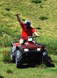 atv kierowcy kwadrat Zdjęcia Royalty Free