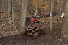 ATV-lopp Arkivfoton