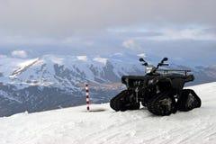 ATV in mountains of Turkey. View on a one ATV in mountains of Turkey Stock Image