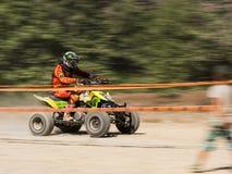 ATV na competição foto de stock