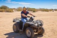ATV nel Messico immagine stock