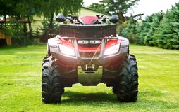 ATV - Quad Bike Royalty Free Stock Photo