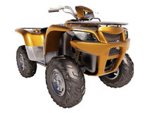 ATV Quad Bike Royalty Free Stock Images