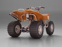 ATV Quad Bike Royalty Free Stock Image