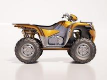 ATV Quad Bike Royalty Free Stock Images