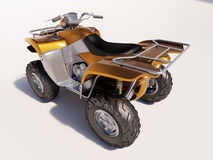 ATV Quad Bike Royalty Free Stock Photography