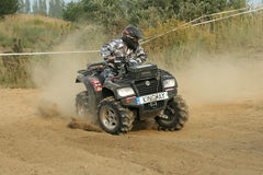 ATV quad race Royalty Free Stock Photos