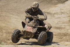 ATV Quad Racer Stock Photography