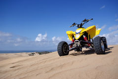 ATV Quad Racer Stock Photography