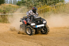 ATV Quad Racing Stock Images