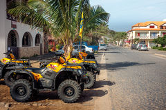 ATV Quads rental Royalty Free Stock Images