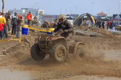 ATV race Royalty Free Stock Photo