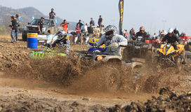 ATV race stock photography