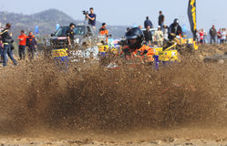 ATV race Royalty Free Stock Photos