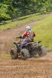 ATV-raceauto Stock Foto's