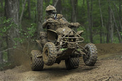 ATV racer 12A Royalty Free Stock Photo