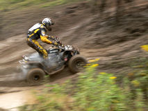 ATV Racer Royalty Free Stock Photos