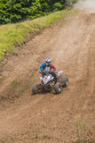 ATV racer Stock Image