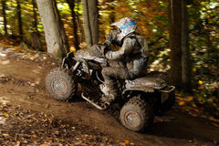 ATV Racing 3 Stock Photography
