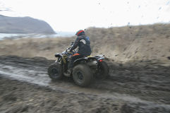 Atv racing Stock Images
