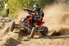 ATV-ras stock afbeelding