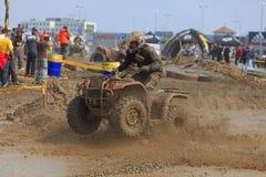 ATV Rennen Lizenzfreies Stockfoto