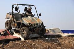ATV Rennen Stockbild