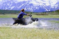ATV Rennen Lizenzfreie Stockbilder