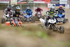 ATV-Rennen lizenzfreie stockfotografie